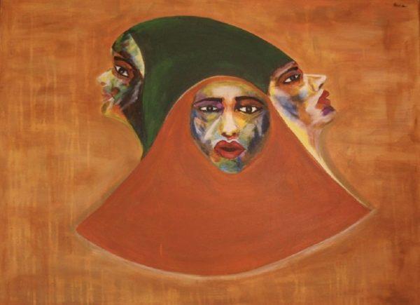 Adaggio a Presto, painting by Neisa Guerra