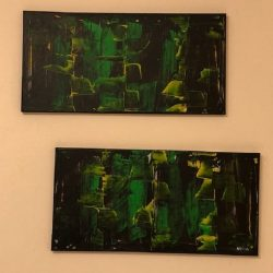 Bell House, Diptych By Neisa Guerra