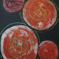 Circles, Painting By Neisa Guerra