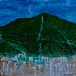 El Ávila, Painting By Neisa Guerra