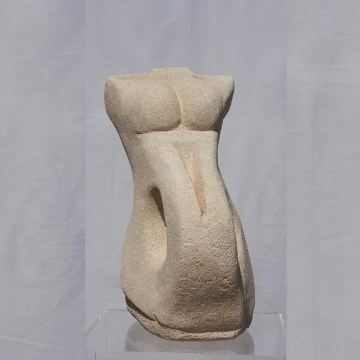 Empty, Sculpture By Neisa Guerra