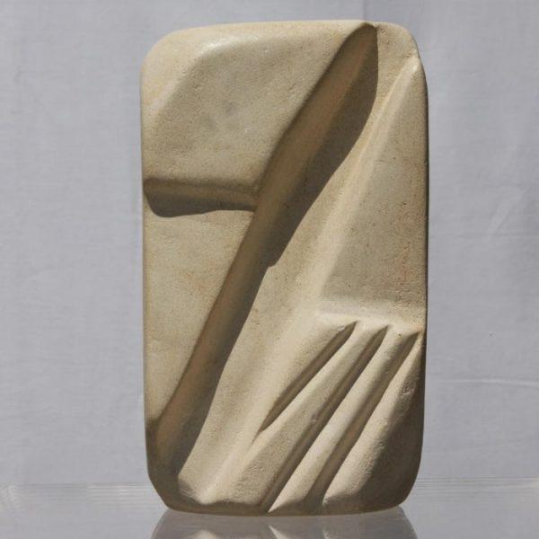 Geometry, sculpture by Neisa Guerra
