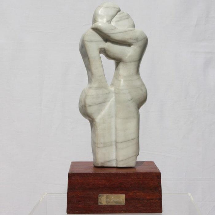 Guys In Love, Sculpture By Neisa Guerra