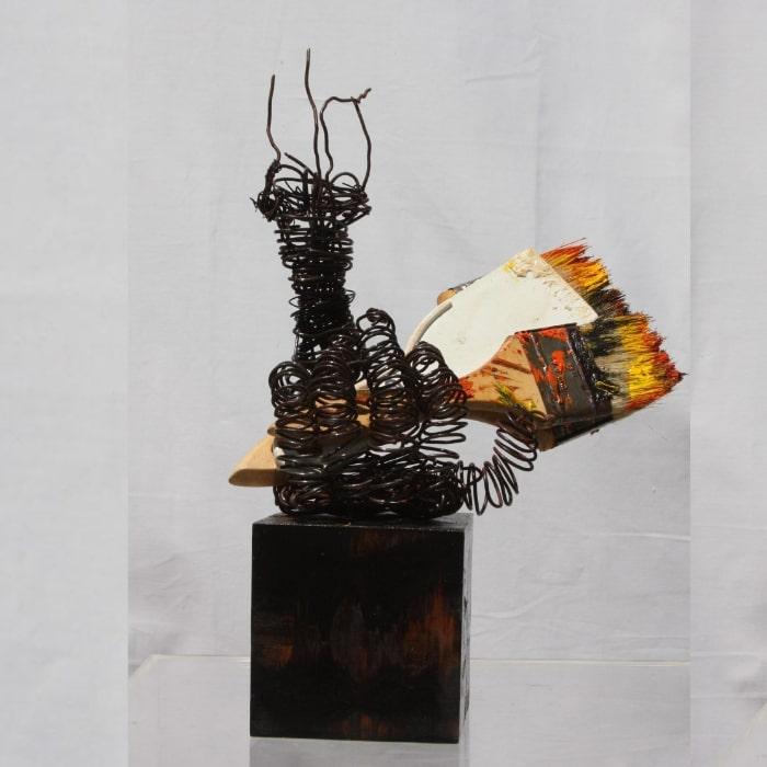 Inspiration, Sculpture By Neisa Guerra