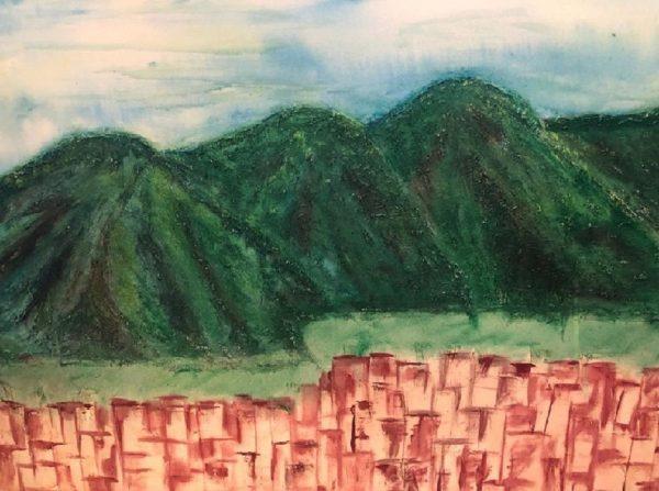 My Avila, painting by Neisa Guerra
