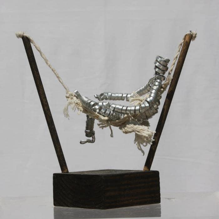 The Rest, Sculpture By Neisa Guerra